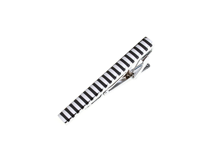 Black Classic Tie Clips Enamel Tie Clips Wholesale & Customized  CL840721