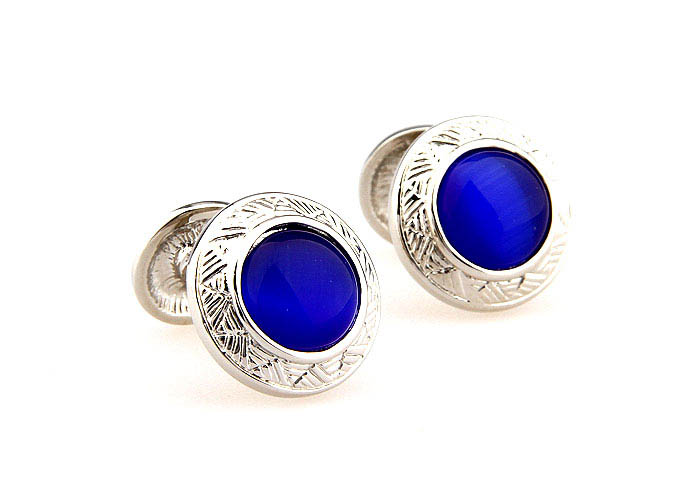 Blue Elegant Cufflinks Gem Cufflinks Wholesale & Customized  CL660342