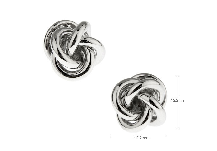 Silver Texture The Brooch The Brooch Knot Wholesale & Customized CL953722
