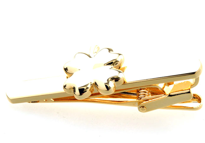 The leaves Tie Clips  Gold Luxury Tie Clips Metal Tie Clips Funny Wholesale & Customized  CL850858
