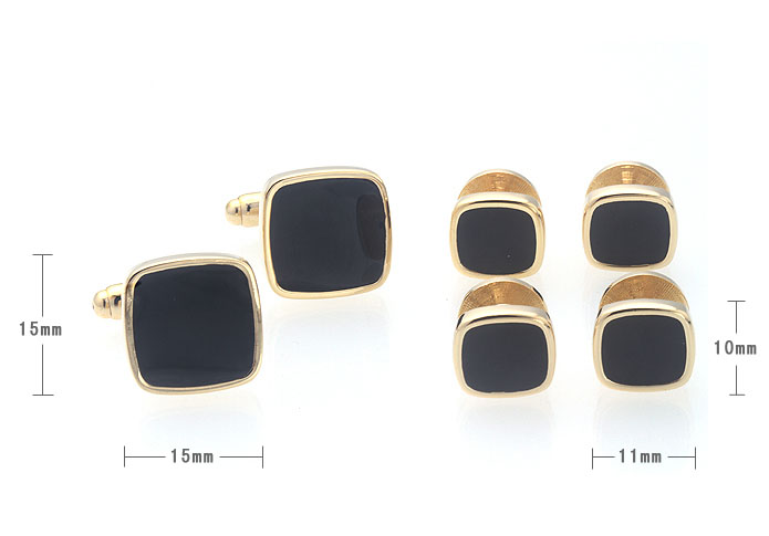 The collar Suit Cuff Links  Gold Luxury Suit Cuff Links Suit Cuff Links Wholesale & Customized  CL971120
