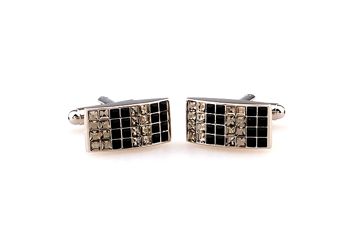Multi Color Fashion Cufflinks Crystal Cufflinks Wholesale & Customized  CL664053