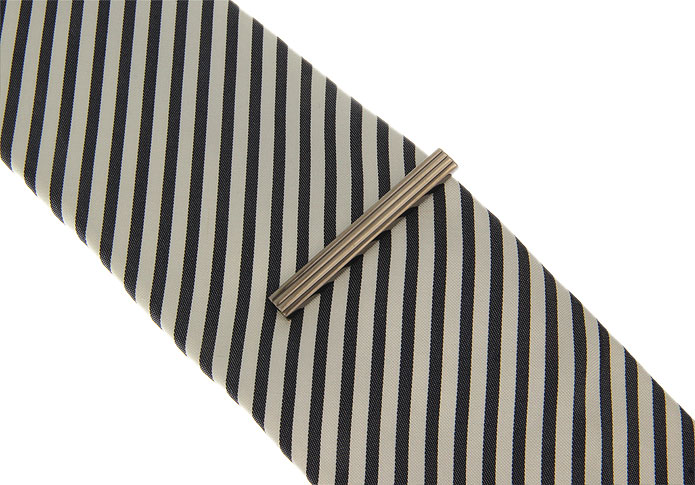 Gray Steady Tie Clips Metal Tie Clips Wholesale & Customized CL850890
