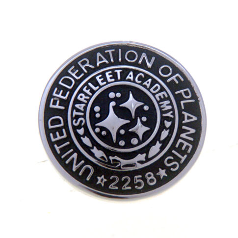 United Federation Of Planets 2258 The Brooch  Black Classic The Brooch The Brooch Flags Wholesale & Customized  CL955824