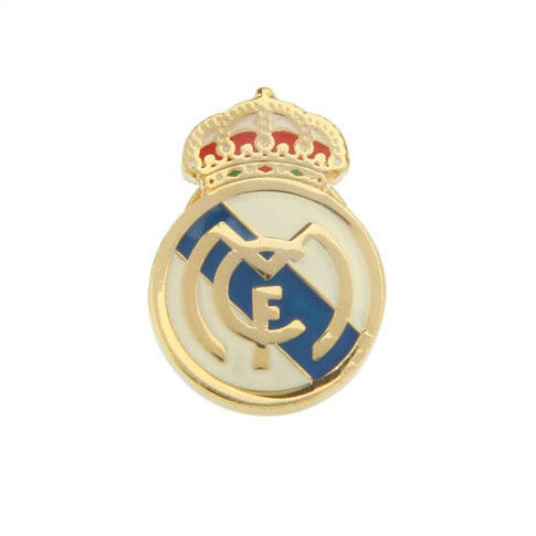 Real Madrid Club de Fútbol  The Brooch  Gold Luxury The Brooch The Brooch Flags Wholesale & Customized  CL975726