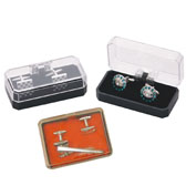 Acrylic Cufflinks Boxes  Black Classic Cufflinks Boxes Cufflinks Boxes Wholesale & Customized  CL210484