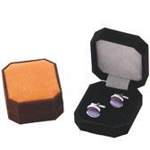 Qualitative Flannelette + Plastic Cufflinks Boxes  Multi Color Fashion Cufflinks Boxes Cufflinks Boxes Wholesale & Customized  CL210552