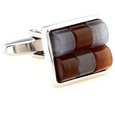 Multi Color Fashion Cufflinks Gem Cufflinks Wholesale & Customized  CL660063