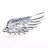 Angel Wings The Brooch  Silver Texture The Brooch The Brooch Animal Wholesale & Customized  CL955734