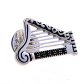 Harp Arpa Harfe The Brooch  Black Classic The Brooch The Brooch Music Wholesale & Customized  CL955757