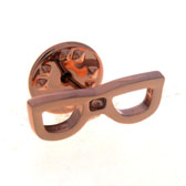 Glasses Frames The Brooch  Gold Luxury The Brooch The Brooch Hipster Wear Wholesale & Customized  CL955827