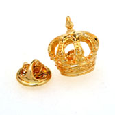 Crown The Brooch  Gold Luxury The Brooch The Brooch Hipster Wear Wholesale & Customized  CL955867