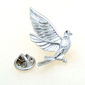 Hummingbird The Brooch  Silver Texture The Brooch The Brooch Animal Wholesale & Customized  CL955869