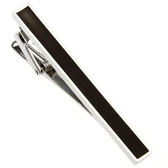 Black Classic Tie Clips Paint Tie Clips Wholesale & Customized  CL870725