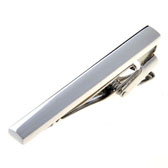 Silver Texture Tie Clips Metal Tie Clips Flags Wholesale & Customized  CL850927