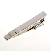 Silver Texture Tie Clips Metal Tie Clips Wholesale & Customized  CL850991