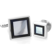 The collar Suit Cuff Links  Black White Suit Cuff Links Suit Cuff Links Wholesale & Customized  CL971118