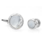 The collar Suit Cuff Links  White Purity Suit Cuff Links Suit Cuff Links Wholesale & Customized  CL971122