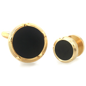 The collar Suit Cuff Links  Gold Luxury Suit Cuff Links Suit Cuff Links Wholesale & Customized  CL971123